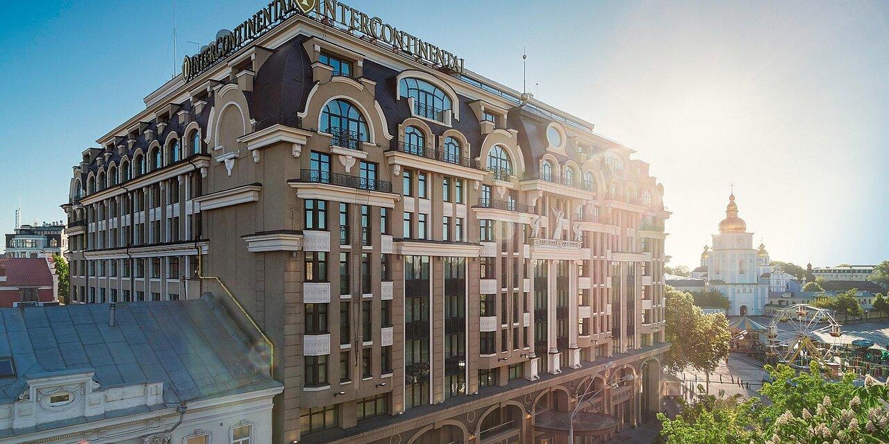 Гостиницы Киева весной